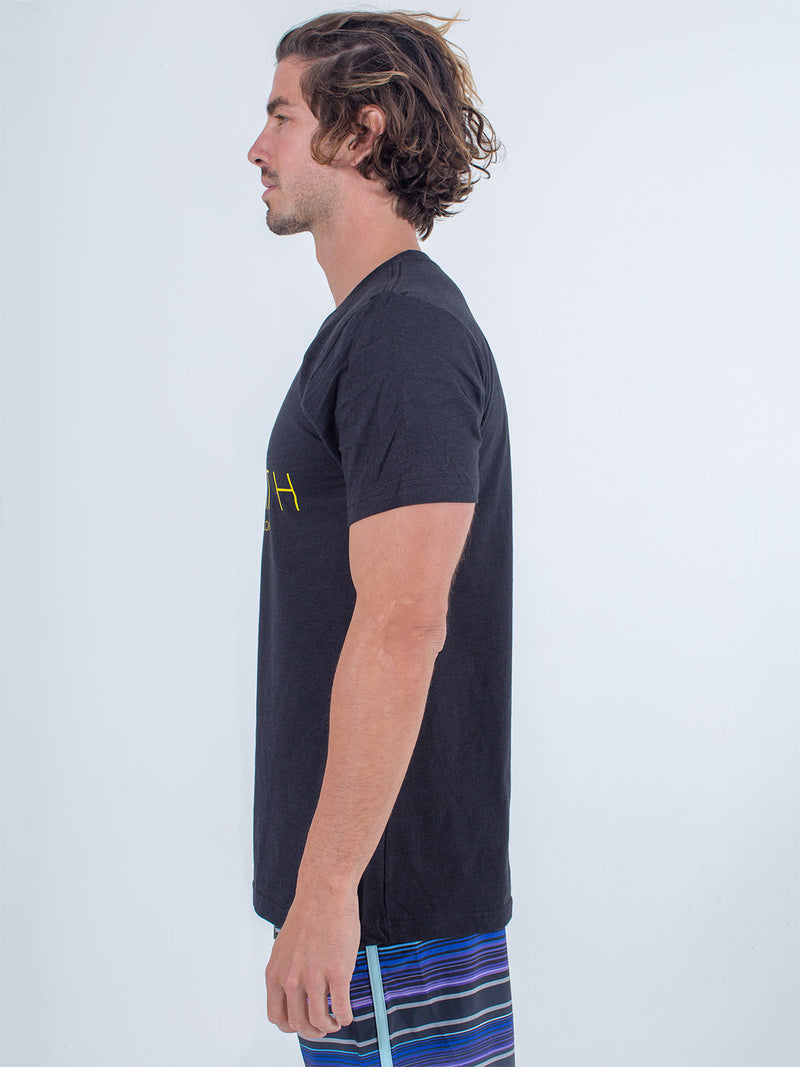 Sexy Brand Men's I Love St. Barth Black Crew Neck T-Shirt side view