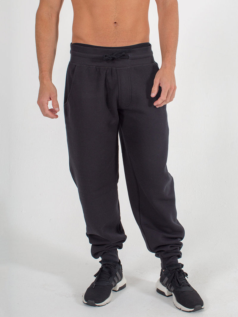 mens sweats joggers sexy brand in black