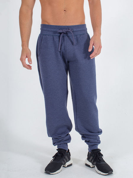 Softie Joggers in Heather Navy