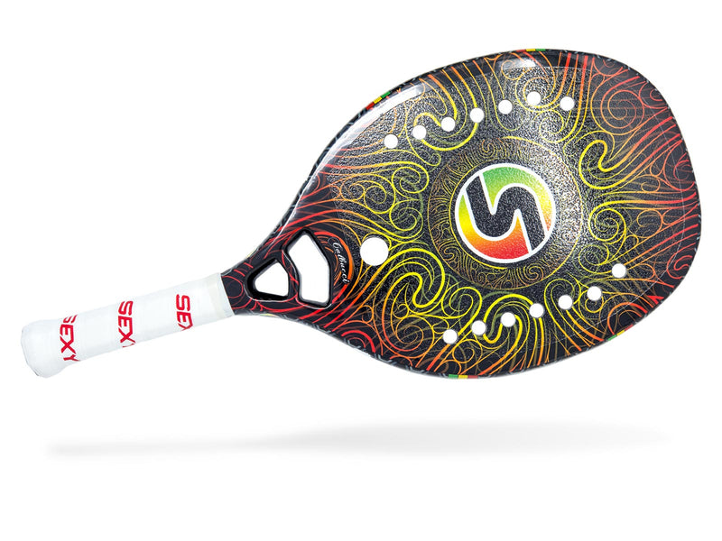 Sexy Brand One Love Beach Tennis Paddle Grit Center