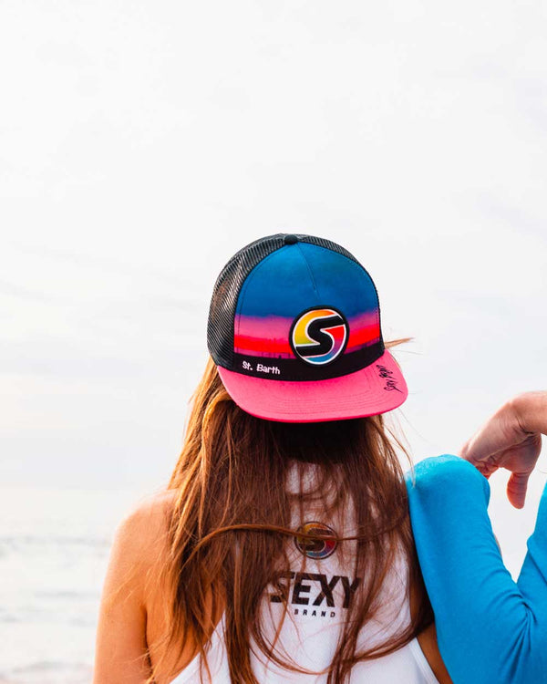 St Barth Sexy Brand Retro Colors Hat