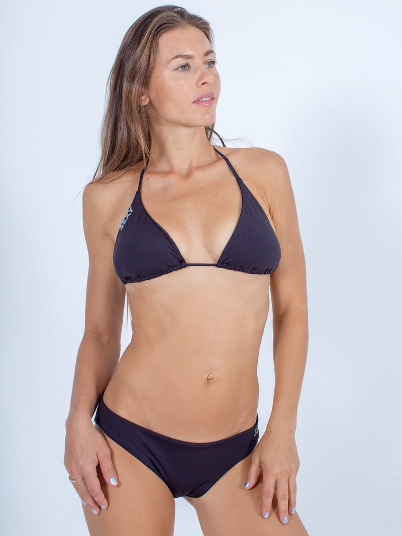Sexy Brand women's swim bikini black triangle top