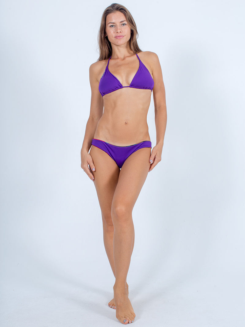 Sexy Brand women's euro cut swim bikini bottom purple