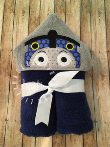 Train Hooded Towel