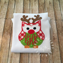 Load image into Gallery viewer, Owl Reindeer Design