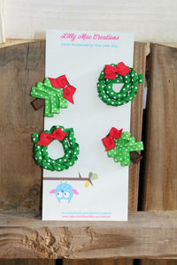 Christmas Wreath Creation