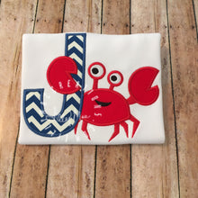 Load image into Gallery viewer, Crab Alphabet Design