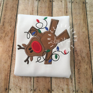 Cartwheel Reindeer Design