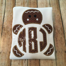 Load image into Gallery viewer, Gingerbread Monogram Design