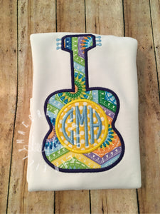 Monogram Guitar Design
