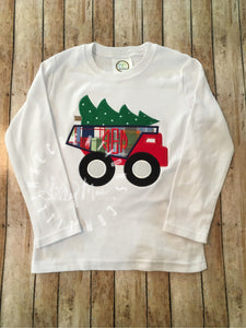 Christmas Tree Dump Truck Design