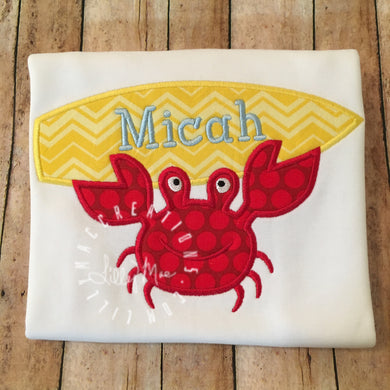 Crab Surfboard Design
