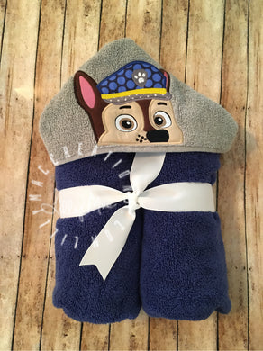 Chase Character Hooded Towel