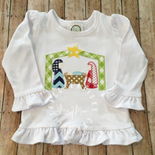 Load image into Gallery viewer, Nativity Blanket Applique Design