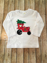 Load image into Gallery viewer, Christmas Tree Tractor Design