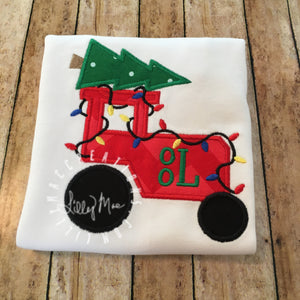 Christmas Tree Tractor Design