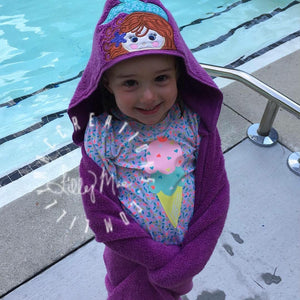 Crown Hooded Towel