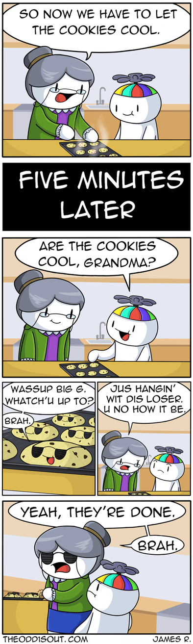Let The Cookies Cool