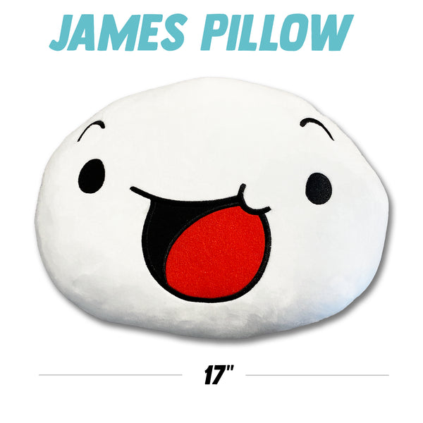James Pillow Plushie