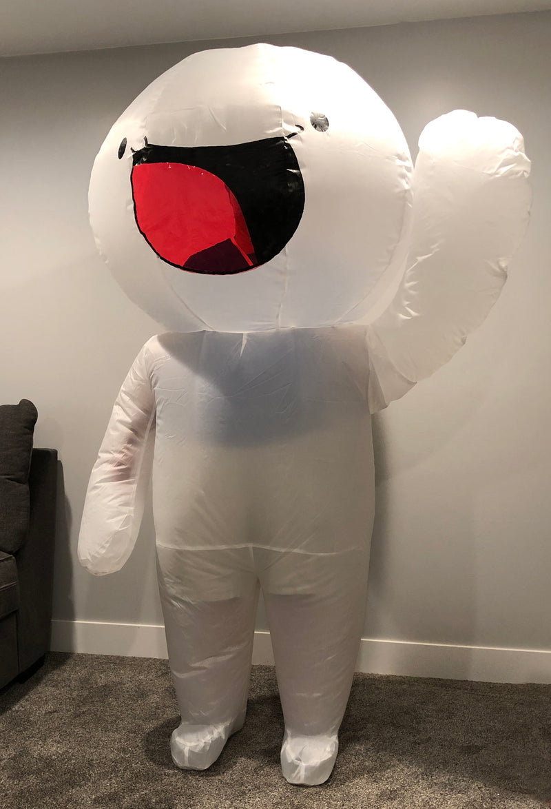 Inflatable James Costume