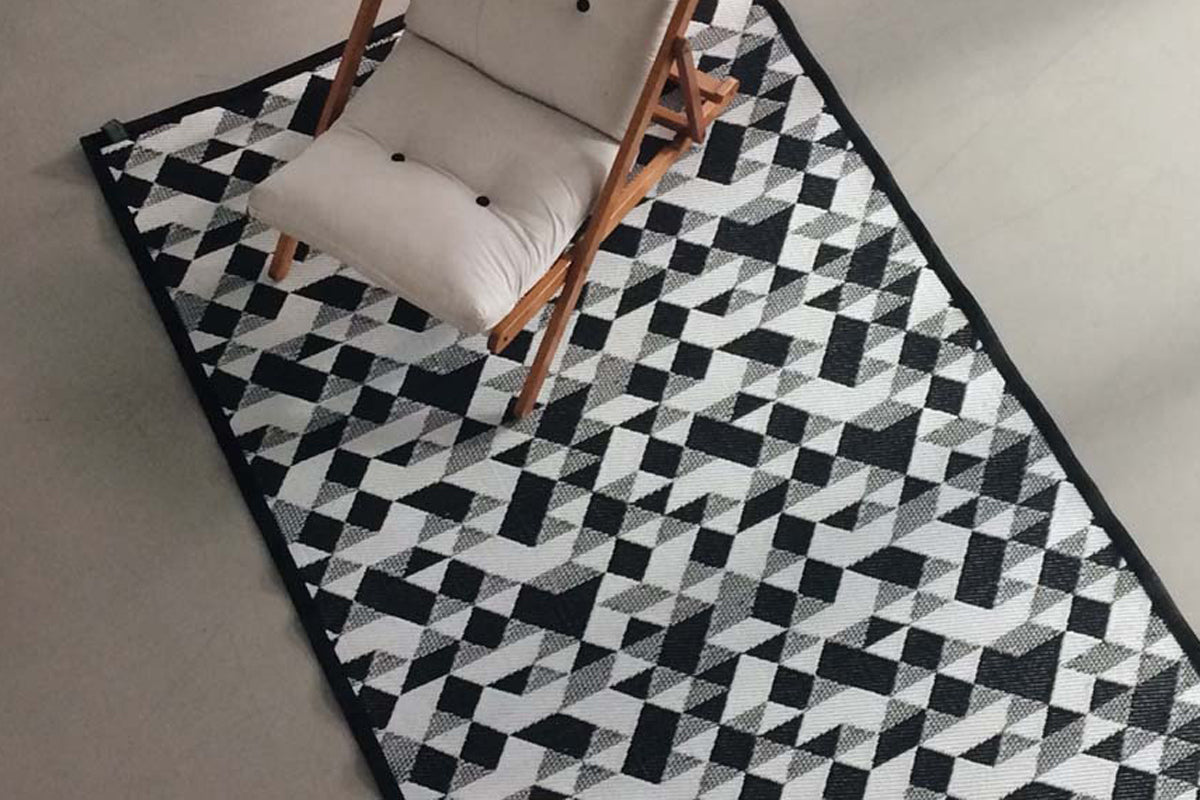 Diamond Outdoor Mat - Medium Size