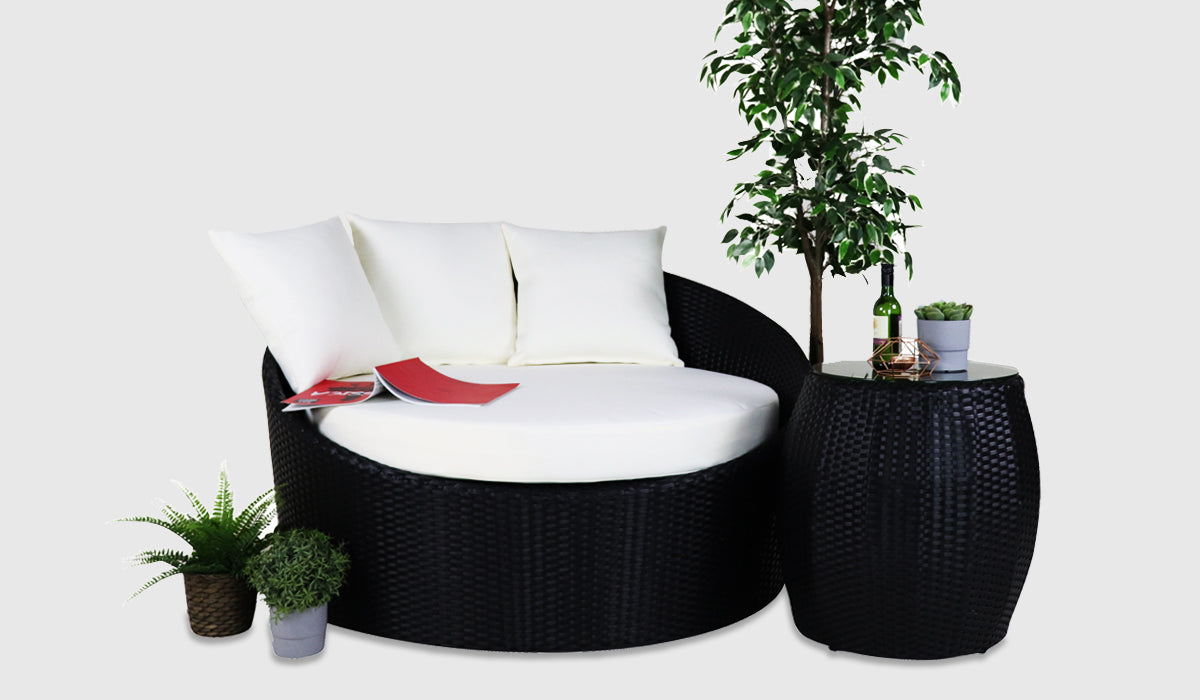 Outdoor round sofa