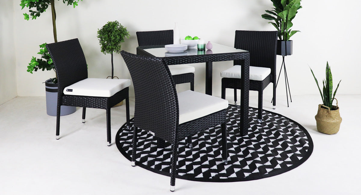 balcony dining set