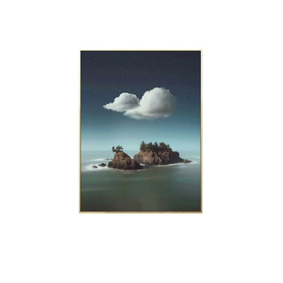 Above Horizon - Wall Art Print with Frame - Accessories