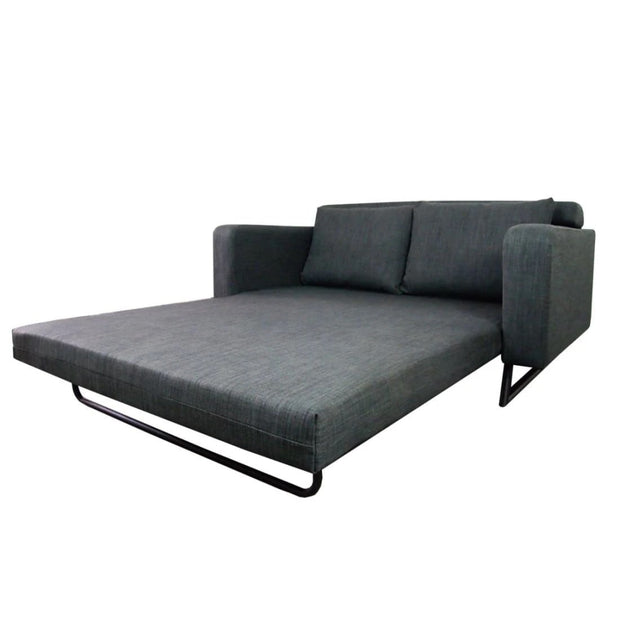 This is a product image of Aikin Sofa Bed Grey (2.5 Seater). It can be used as an Sofa Bed.