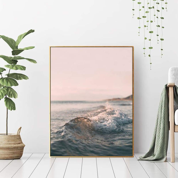 Arrive in Paradise - Wall Art Print with Frame - Accessories