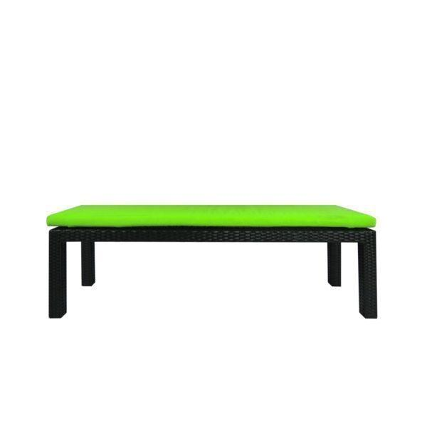 This is a product image of Bondi 3 Pcs Dining Set Green Cushion. It can be used as an Outdoor Furniture.