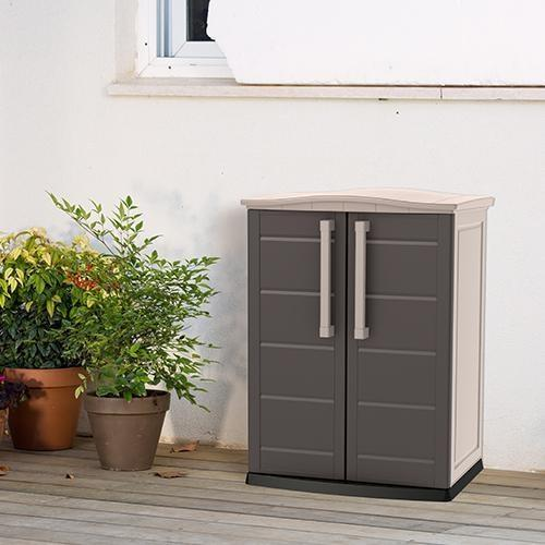 Boston Outdoor Cabinet Base Brown by Keter - Free Assembly