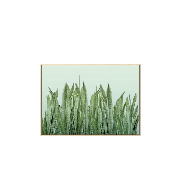 Botanical Tiger Piran Framed Wall Art Print