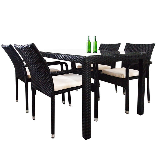 This is a product image of Boulevard Dining Table (1.5m). It can be used as an Outdoor Furniture.