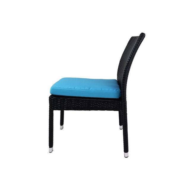 This is a product image of Casa Chair Blue Cushion. It can be used as an Outdoor Furniture.