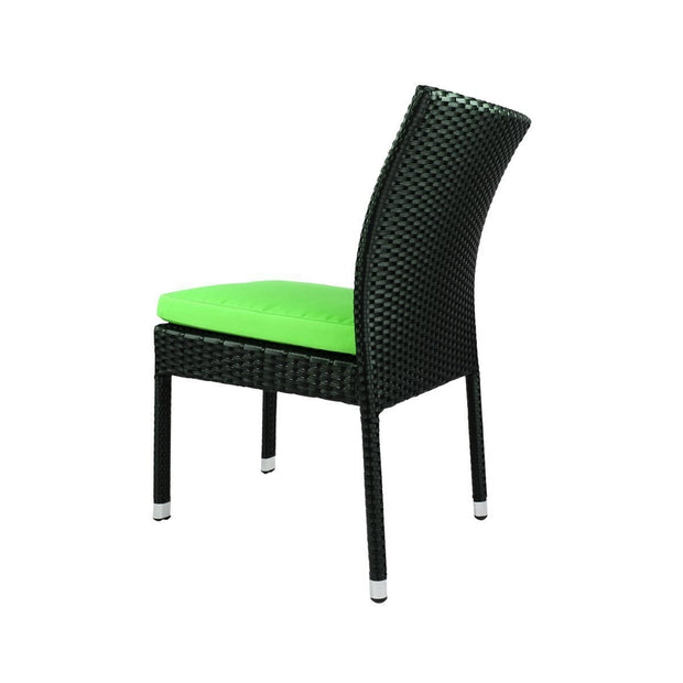 This is a product image of Casa Chair Green Cushion. It can be used as an Outdoor Furniture.