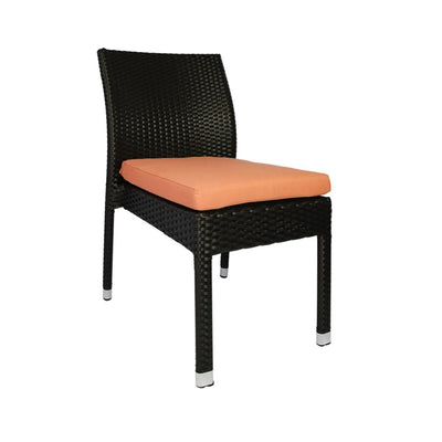 This is a product image of Casa Chair Orange Cushion. It can be used as an Outdoor Furniture.