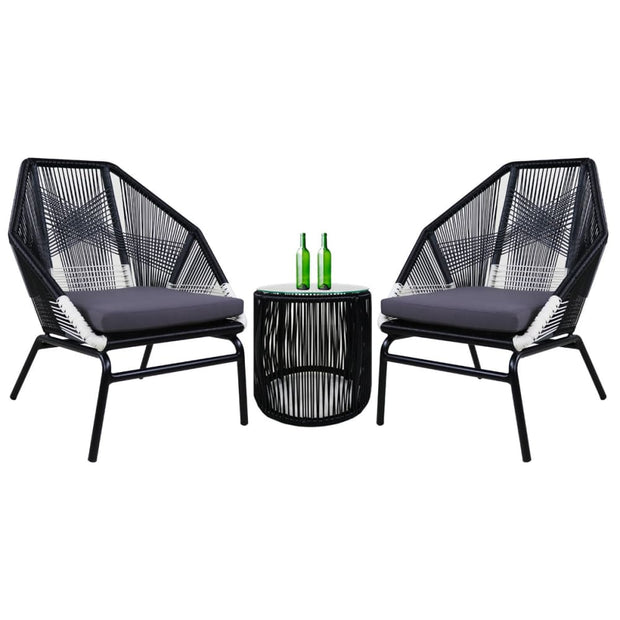 Catania Patio Set Grey Cushion - Outdoor