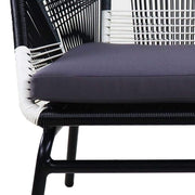 Catania Patio 2 + 1 Seater Grey Cushions - Outdoor