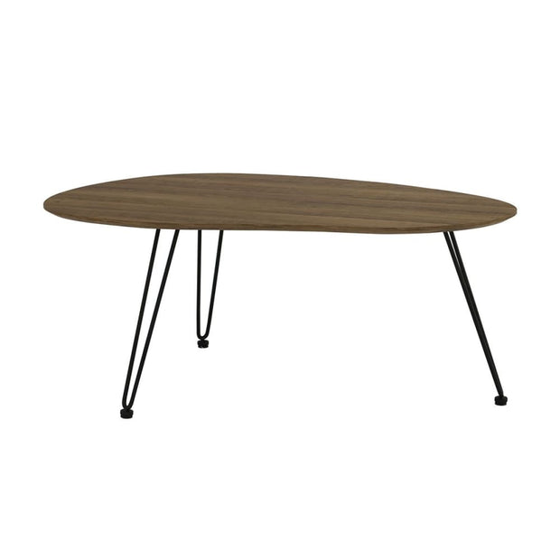 Corwin Large Coffee Table in Vintage Oak Colour Top