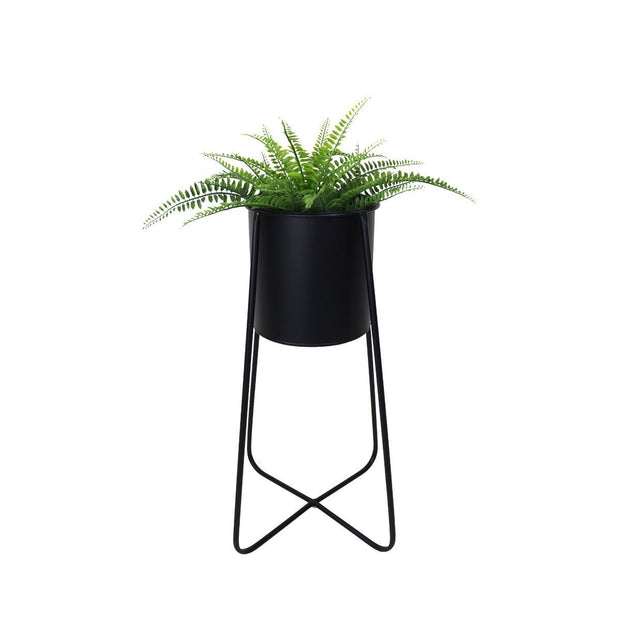 This is a product image of Eden Free Standing Planter - Black Pot. It can be used as an Accessories.