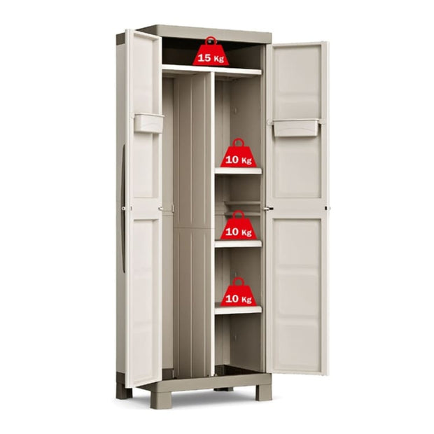 This is a product image of Excellence Multipurpose Cabinet by Kis - Assembly Included. It can be used as an Storage Cabinet.