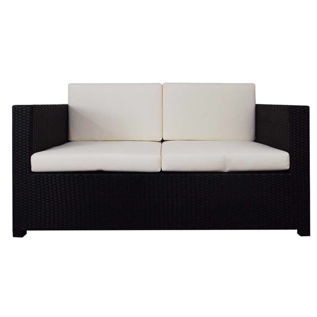 This is a product image of Fiesta Sofa Set II White Cushion. It can be used as an Outdoor Furniture.