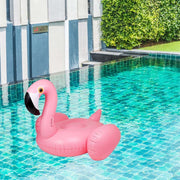 This is a product image of Flamingo Inflatable Pool Float. It can be used as an Home Accessories.