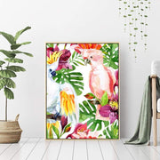 Galah Parrots - Wall Art Print with Frame - Accessories