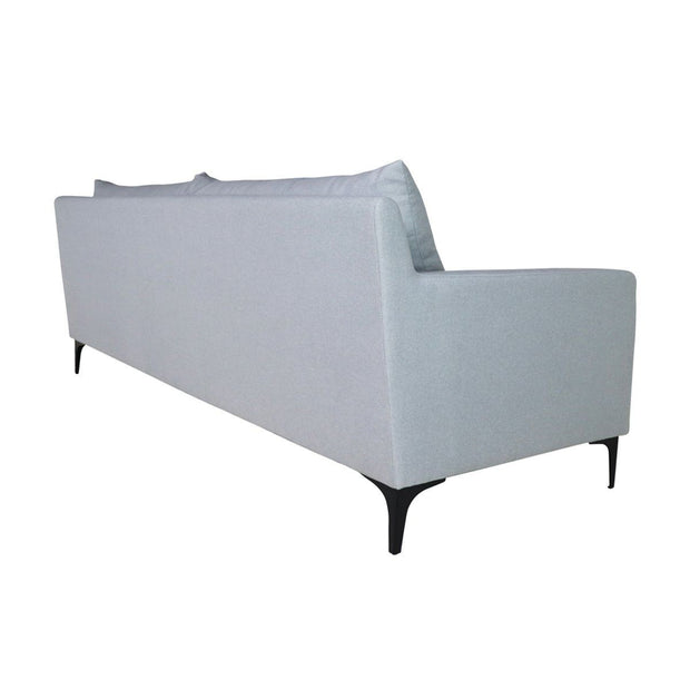 Hayley 3 Seater Sofa Light Grey