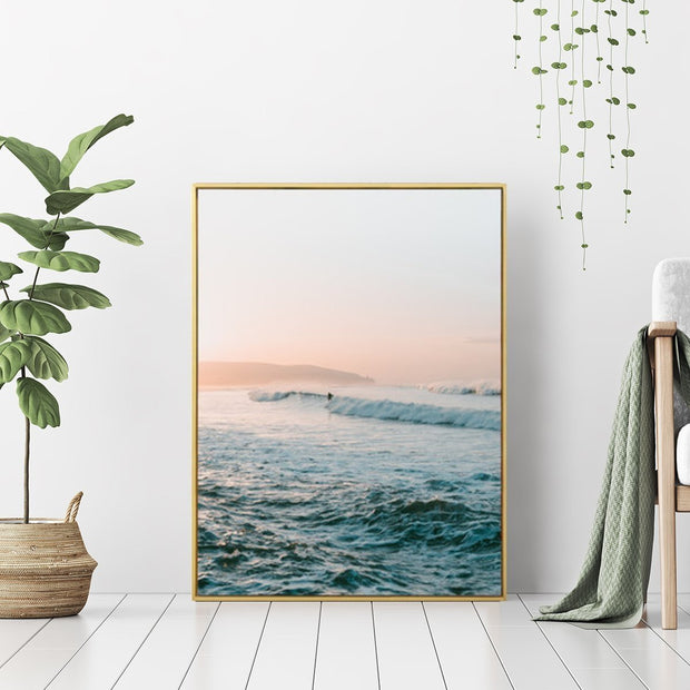 This is a product image of Idea of Paradise - Wall Art Print with Frame. It can be used as an Accessories.