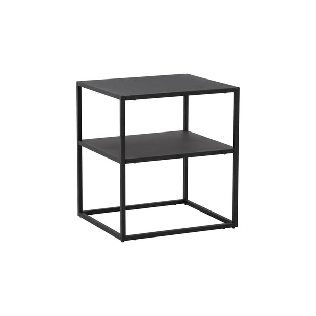 Katheryne Side Table in Matt Black Epoxy