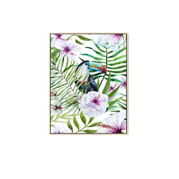 Keel-Billed Toucan- Wall Art Print with Frame - Accessories