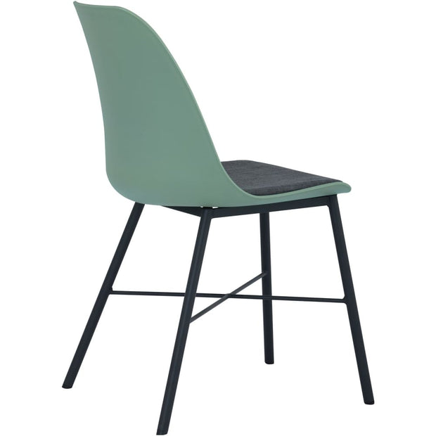 Laxmi Dining Chair Green Set of 2